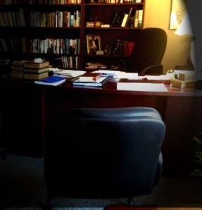 the pastor's desk