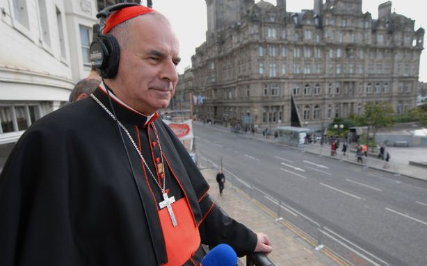 Photo of Cardinal Keith O'Brien from the http://www.theatlanticwire.com website.