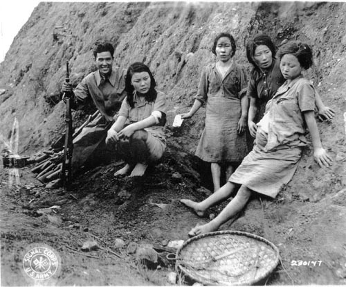 Pregnant Comfort Woman Discovered After World War Two