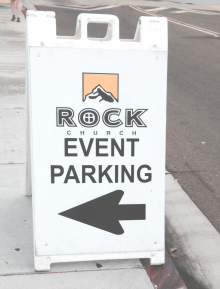 The Rock Event Parking cropped