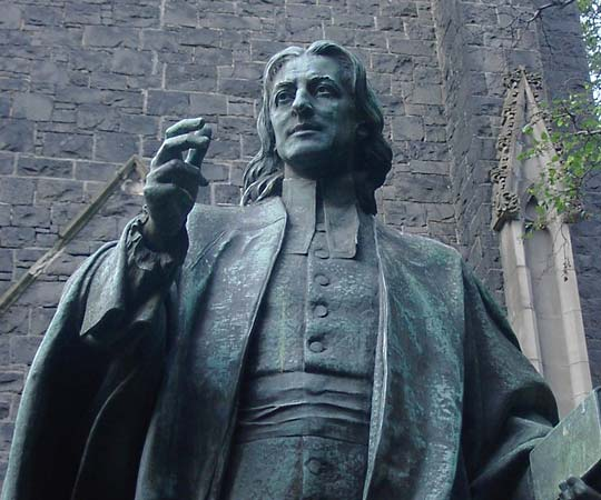 John Wesley, creator of the pattern now successfully being used by the neo-calvinists.
