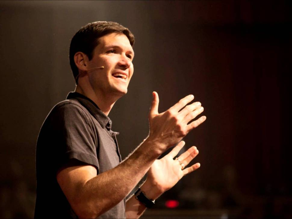 Matt Chandler, Lead Pastor of The Village Church, photo from YouTube