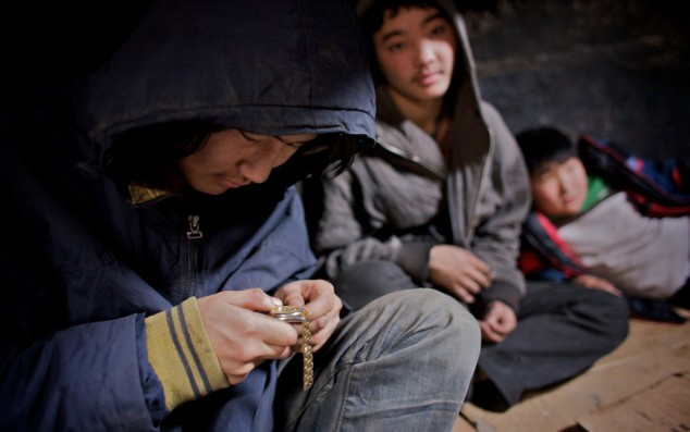 Street Kids in Mongolia, Image by Richard Wainright courtesy of Aeon Magazine