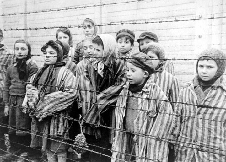 Child Survivors of Auschwitz, Courtesy of Wikimedia Commons