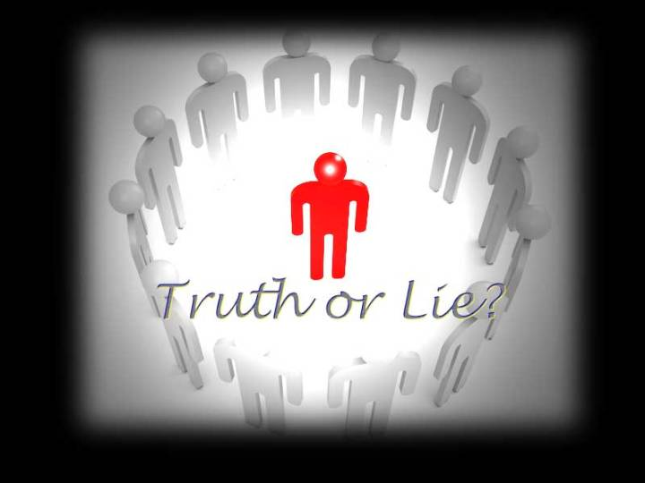 Can We Live a Lie and Proclaim Truth?